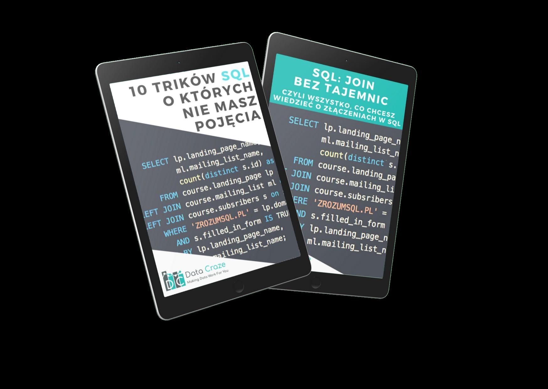10 Trików SQL i JOIN Bez Tajemnic - Okładka